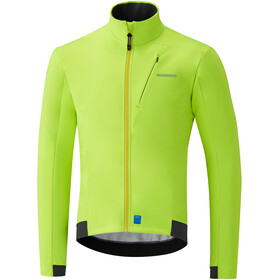 Shimano Softshell Jacket Men neon yellow